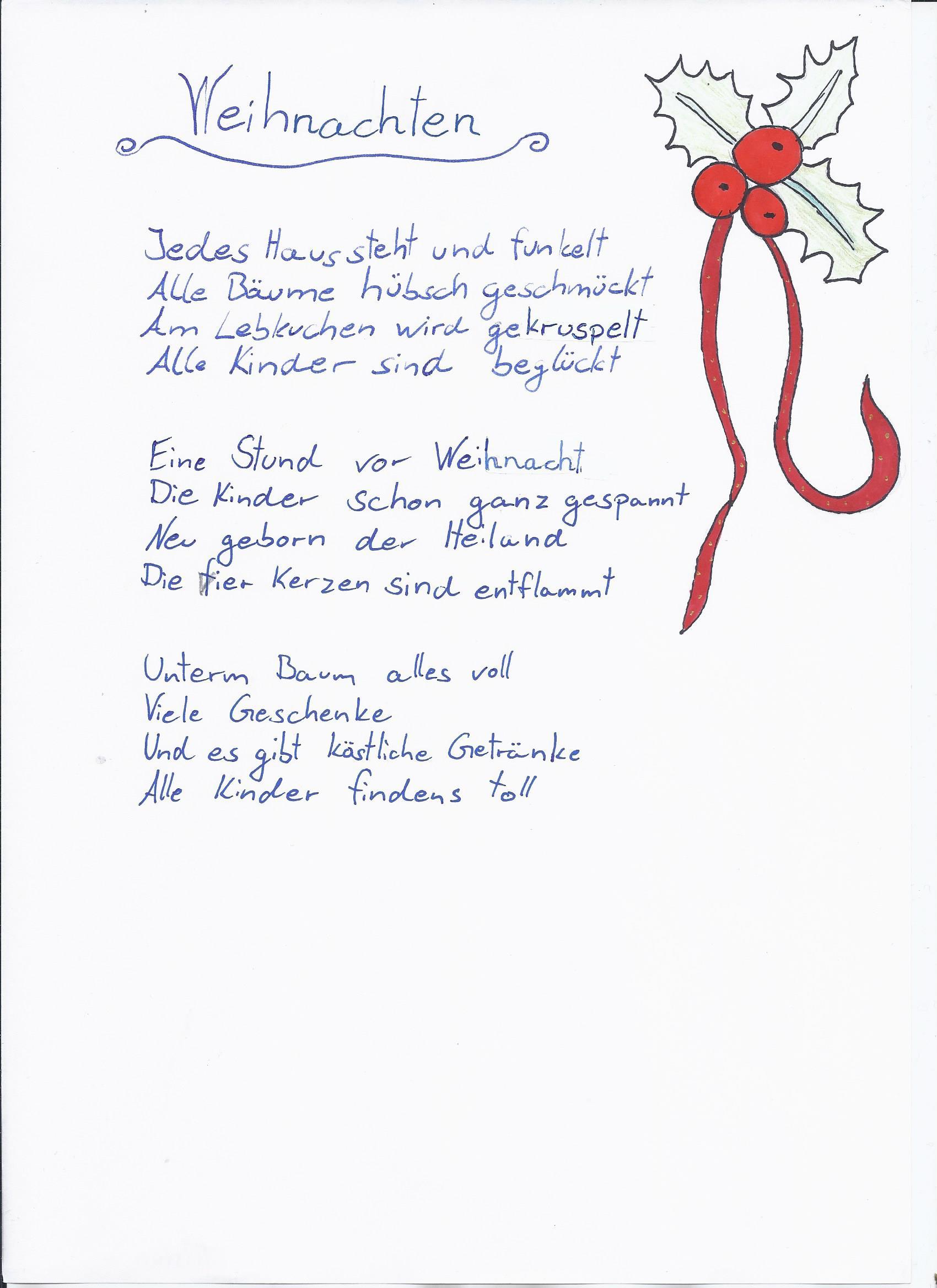 weihnachtsgedichte elg alzey